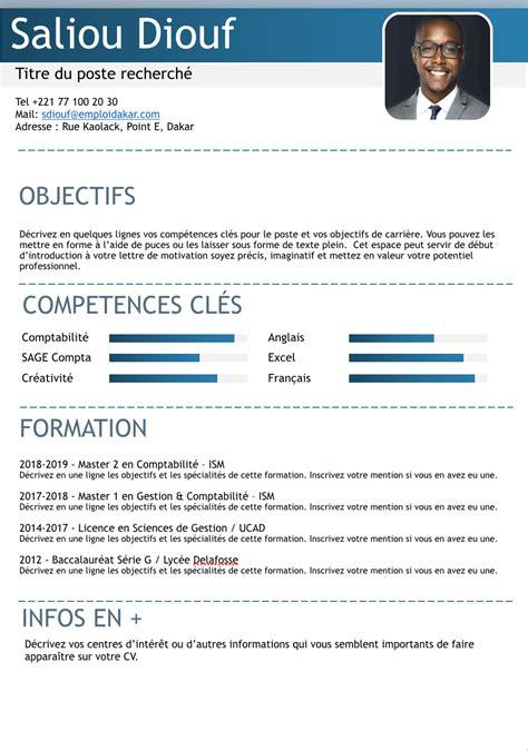 Modèle De Cv Pour étudiant by Exemple De Cv 201 Tudiant Sans Exp 233 Rience Professionnelle