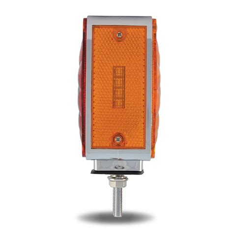 square amber red turn signal marker super diode led