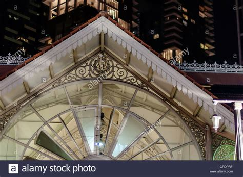 Singapore Beautiful Colonial Architecture Old Stock Photos