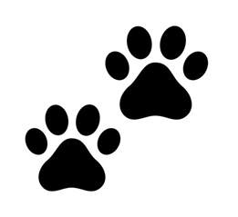 cat paw print clip free cliparts co