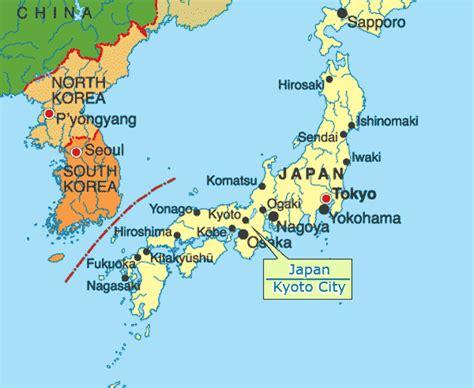 maps  kyoto