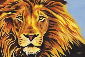 Lion Head Painting | www.pixshark.com - Images Galleries ...
