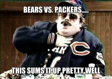 Bears Packers Meme - bears packer quotes quotesgram