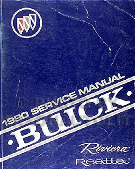 car manuals free online 1992 buick riviera auto manual 1990 buick riviera reatta repair shop manual original