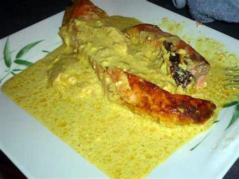 cuisiner filet de saumon recette de pave de saumon curry