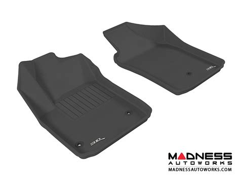 3d Maxpider Universal Floor Mats by Fiat 500 Floor Mats Set Of 2 Front Black By 3d
