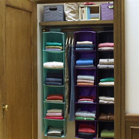 25 best ideas about hanging closet organizer on