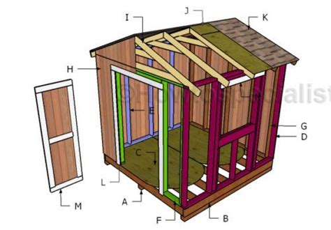 8x8 Shed Plans With Loft by 25 Best Ideas About 8x8 Shed On Storage