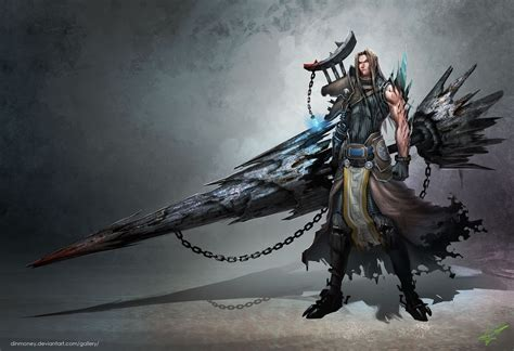 video anime genre fantasy fantasy swords paintings video games weapons