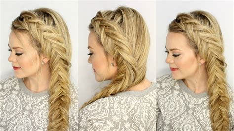 dutch fishtail braid missy sue youtube