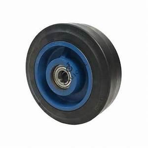 Roue De Manutention Charge Lourde : roue de manutention en caoutchouc fonte 250mm axe 30 mm ~ Edinachiropracticcenter.com Idées de Décoration