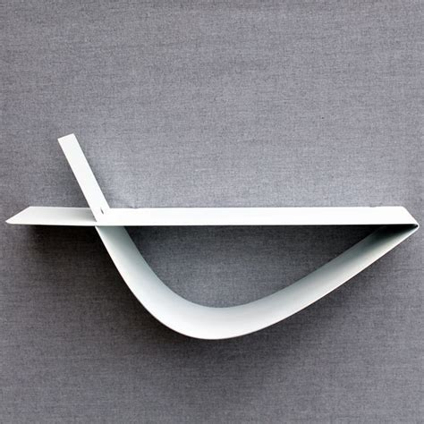 cuisine corse etagère murale blanche moderne tablette murale design