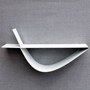 étagères Murales Design : etag re murale blanche moderne tablette murale design zen 45 cm ~ Teatrodelosmanantiales.com Idées de Décoration