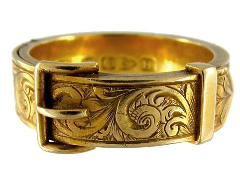 gold bracelets mens 18ct gold buckle ring which opens to reveal hair