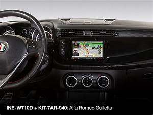 7 Inch Installation Kit For Alfa Romeo Giulietta  Type 940  From 2013- And Newer - Alpine