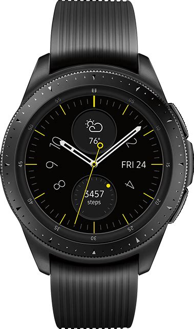 While samsung has not shared any information on. Samsung Galaxy Watch 42mm Midnight Black 4 GB from AT&T