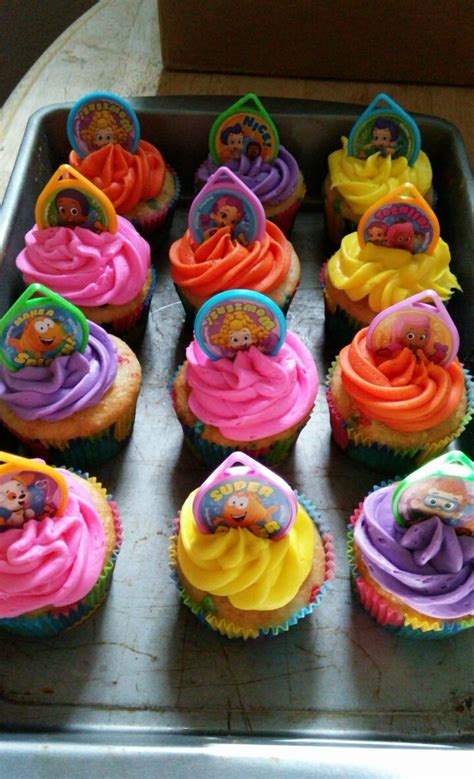 25 best ideas about bubble guppies cupcakes on pinterest