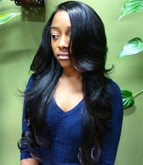 Pictures Of Sew In Weaves Hairstyles by 49 Curly Weave Hairstyle That Turns Your In