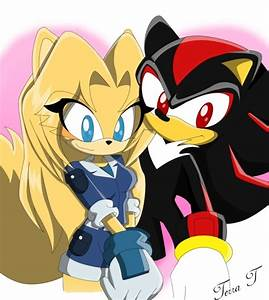 Shadow and Maria The Hedgehog - Maria and Shadow Fan Art ...