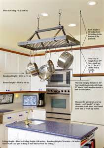 kitchen island with hanging pot rack pot rack hanging on hanging pot racks kitchen themes and stained cabinets