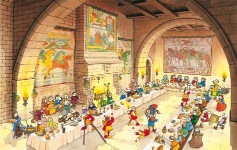 les banquets au moyen age les 7 diff 233 rences au banquet de heurtebise les bonbecs