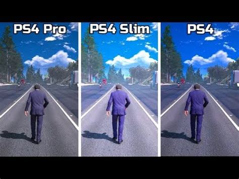 ps pro  ps slim  ps  graphics comparison ft