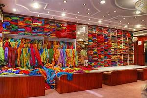 saree shop 284 286 a copy colors of a saree shop in With interior design online shopping india