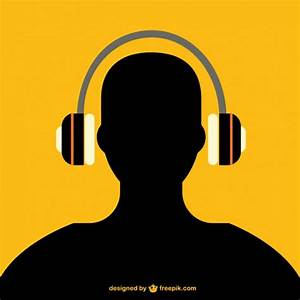 Man With Headphones Vectors, Photos and PSD files | Free ...