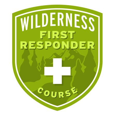 course responder wilderness badges mountaineers