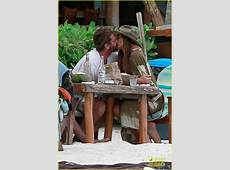 Gerard Butler & Girlfriend Morgan Show Some PDA During New