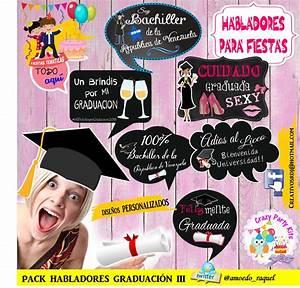Carteles Habladores Graduacion!! $ 50 00 en Mercado Libre