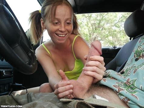 Handjob In Car