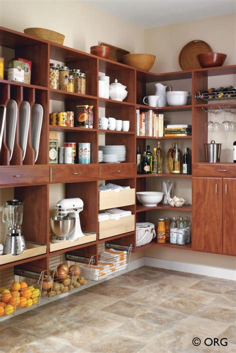 Pantry Cabinet Storage Solutions by Atlanta Pantry Storage Solutions Spacemakers Custom Closets