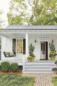 38, Inspiring, Farmhouse, Front, Porch, Steps, Decor, Ideas