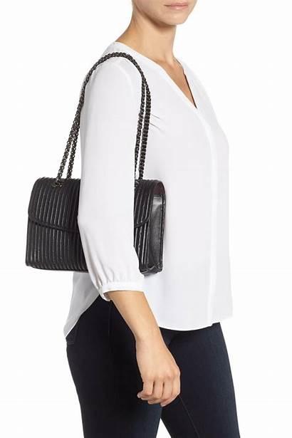 Leather Bag Coach Shoulder Parker Quilted Bags