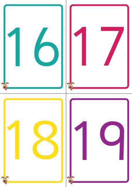 Teacher's Pet  Colourful Number Cards 050  Free Classroom Display Resource  Eyfs, Ks1, Ks2