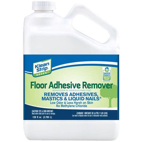 flooring adhesive remover klean strip green 1 gal floor adhesive remover gkgf75015 the home depot