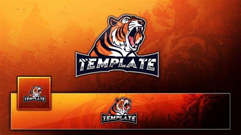 Free Tigar Mascot Esport /clan Gaming Logo