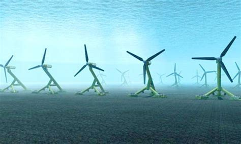 Tidal Power Turbines: Under water Green Power Solution