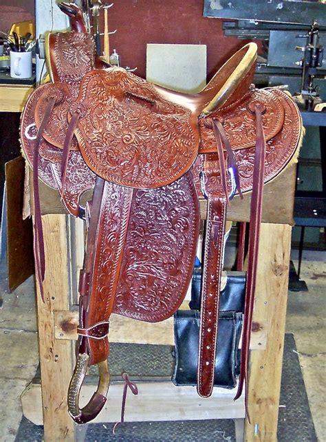 Custom Saddles Bray Leather Studios