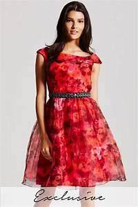 multi floral print prom dress from uk