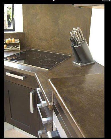 beton ciré cuisine plan travail comment choisir et poser un plan de travail de cuisine