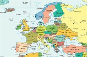 European Countries and Capital Cities - interactive map ...