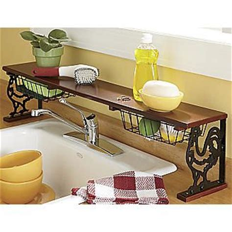 kitchen sink shelf sink wire baskets and in kitchen on 2877