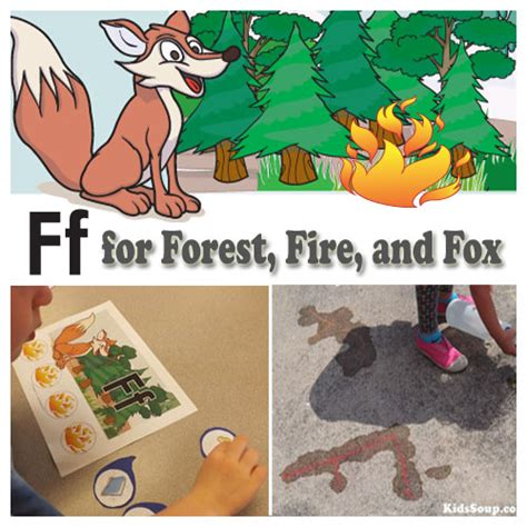 into the forest preschool weekly plan and activities 595 | f for Forest Fire Activities preschool kS