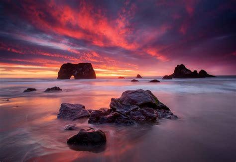 Elephant Rock - Mendocino County - California Beaches