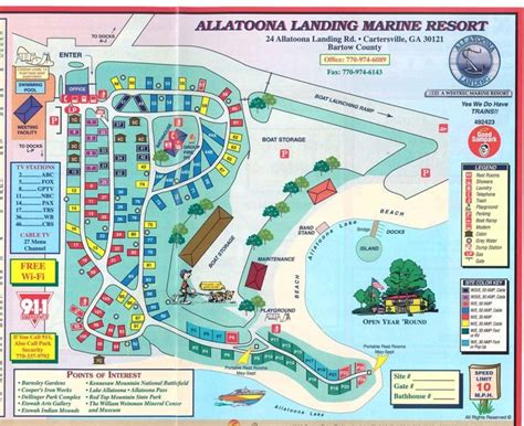Lake Lanier Boat Rs by Allatoona Landing Marine Resort And Cground
