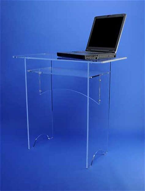 bureau en plexiglas bureaux et tables plexiglas