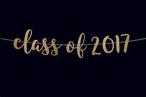 Graduation party banner class of 2017 banner college graduate