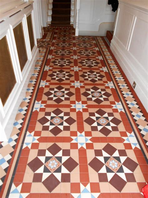 victorian tiled hallways london herts tile